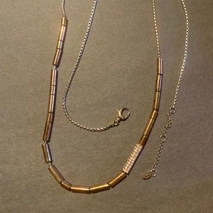 Fossil Jewelry - Fossil 925 necklace